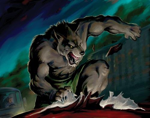 Les loups garous de thiercelieux daily moogle - Image loup dessin ...