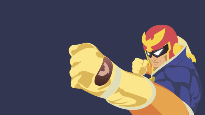 captain_falcon_vectored_wallpaper_by_browniehooves-d7ymqwh