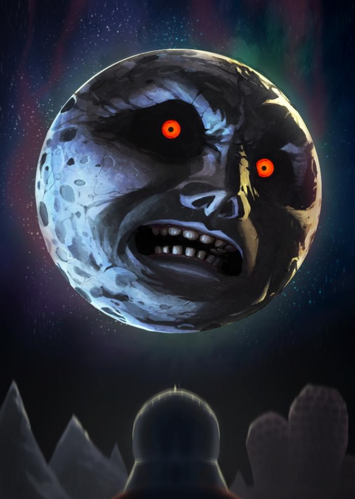 La Lune de Majora's Mask