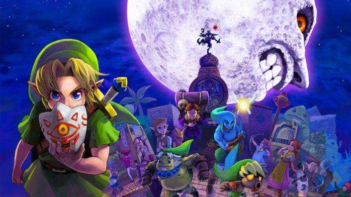 Une image de Zelda MM qui ferait un bon fond d'écran