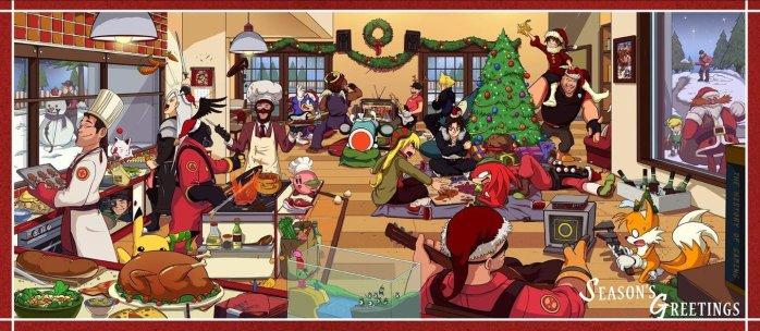 Noel dans les jeux video