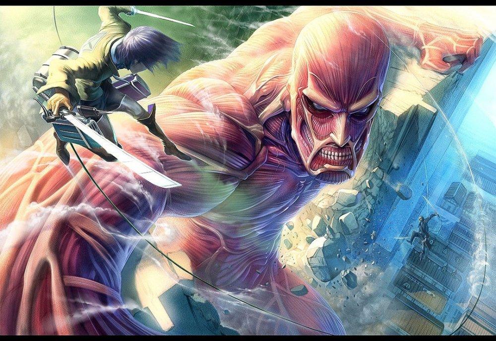 Top 10 des raisons de regarder l'Attaque des Titans / Shingeki no Kyojin (2/2)