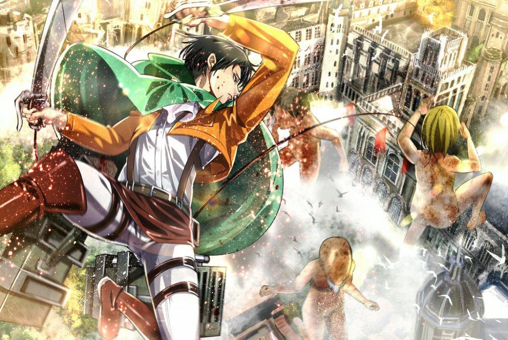 Top 10 des raisons de regarder l'Attaque des Titans / Shingeki no Kyojin (1/2)