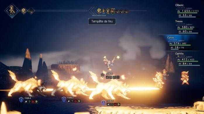 Tempête de feu, Cyrus