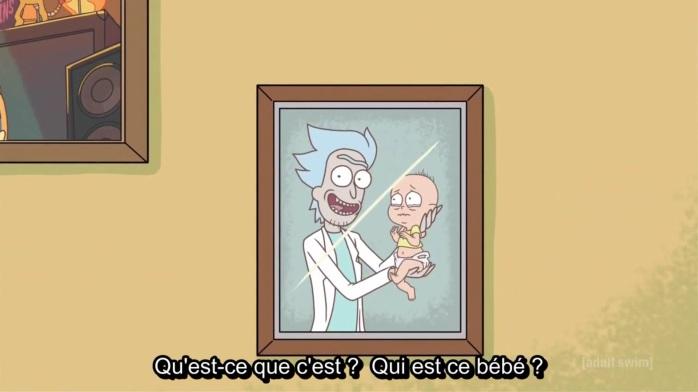 bébé Evil Morty
