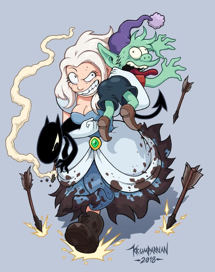 Luci Bean et Elfo