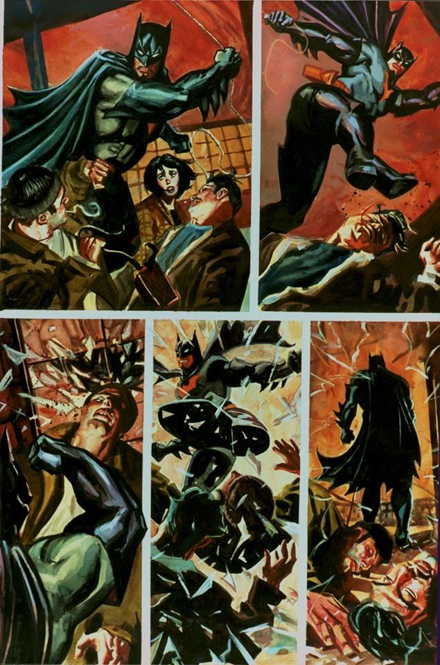 Batman Thrillkiller Cassage de gueule